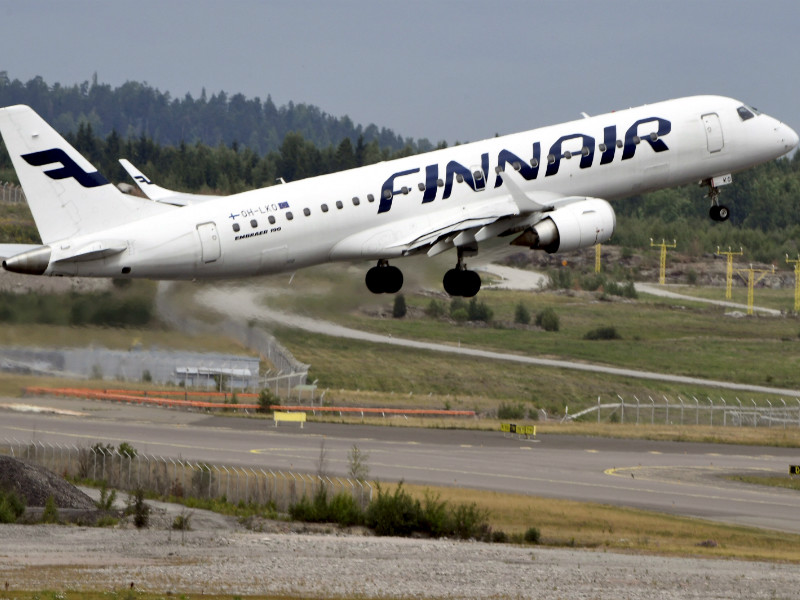 Finnair on Tuesday said it carried almost 1,250,000 passengers in June.