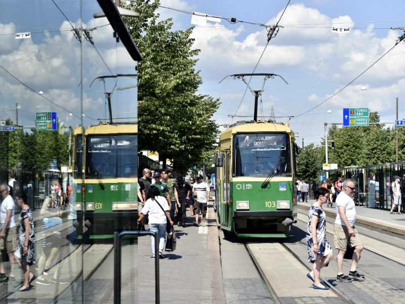 A well functioning public transport system is one of the factors contributing to the high quality of life in Helsinki, according to the British lifestyle magazine Monocle.