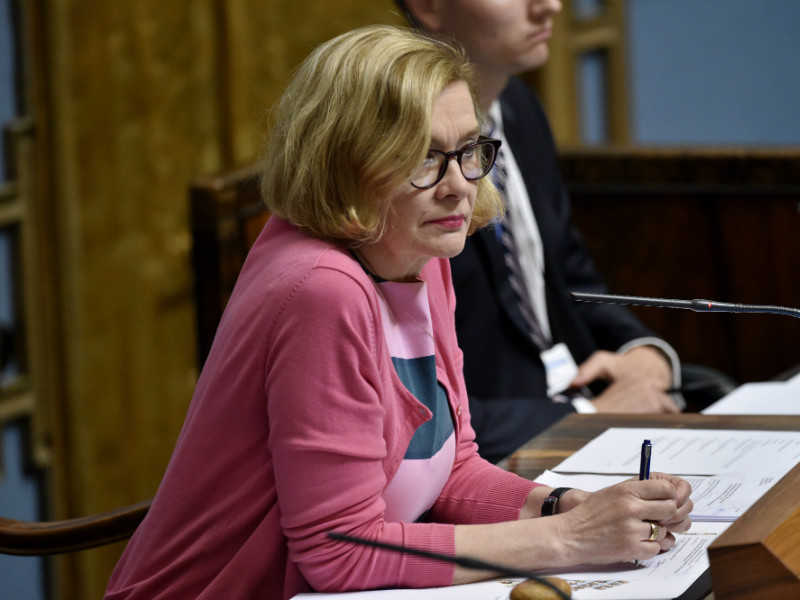 Paula Risikko (NCP), the Speaker of the Parliament, reveals she and her colleagues monitored the work of the Parliament's Social Affairs and Health Committee throughout the spring.