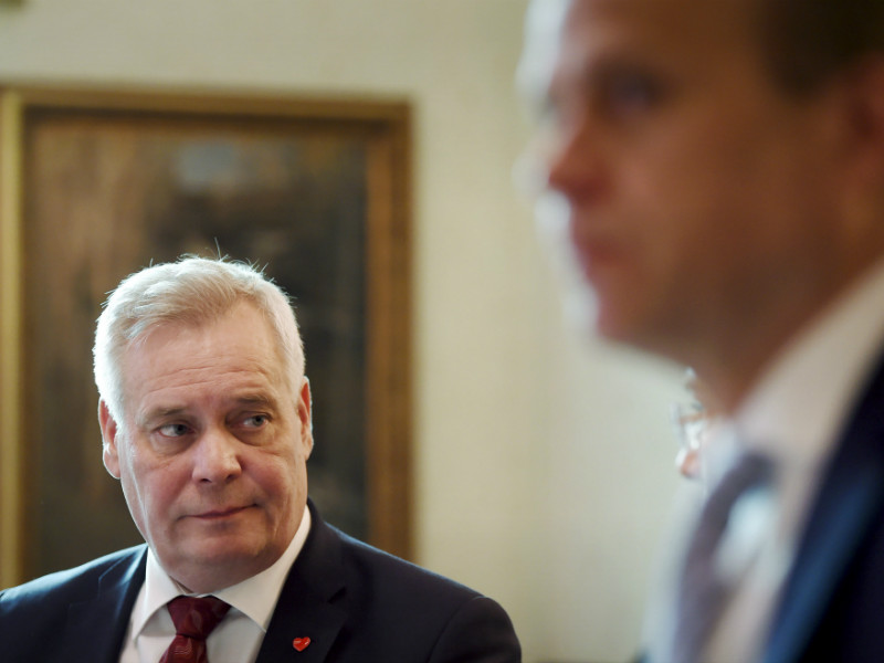 The Social Democrats' Antti Rinne (left) and National Coalition's Petteri Orpo (NCP) remain the most likely party leaders to become the next primer minister of Finland, according to a poll by YLE.