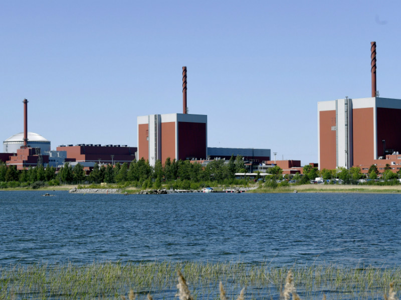 The Olkiluoto Nuclear Power Plant in Eurajoki, Western Finland. The plant's third reactor is now expected to start producing electricity roughly ten years behind initial schedule, in September 2019.