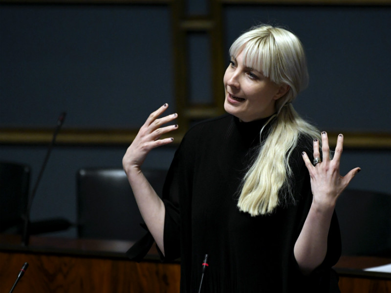 Laura Huhtasaari, a deputy chairperson of the Finns Party, has been accused of copying up to 30 per cent of her master's thesis from a single source without giving credit.