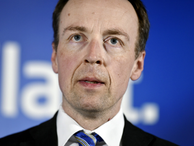 Jussi Halla-aho, the chairperson of the Finns Party and Member of the European Parliament, has urged all EU member states not to join the so-called global compact for migration, an intergovernmental agreement prepared under the UN. (Credit: Jussi Nukari – Lehtikuva)