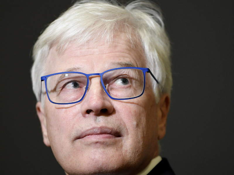 Bengt Holmström, a professor of economics at the Massachusetts Institute of Technology (MIT), attended the opening ceremony of the Helsinki Graduate School of Economics on Wednesday, 24 October. (Credit: Antti Aimo-Koivisto – Lehtikuva)