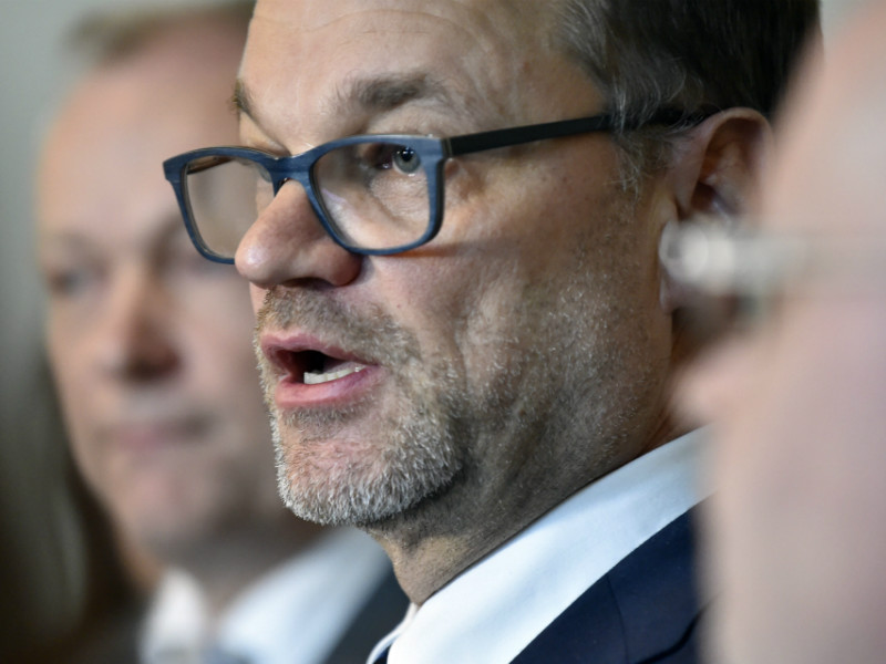 "Prime Minister Juha Sipilä (Centre) announced on Thursday his government will issue a statement on its employment policy approach to the Parliament. ""This is an exceptional measure,"" he said. (Credit: Jussi Nukari – Lehtikuva)"