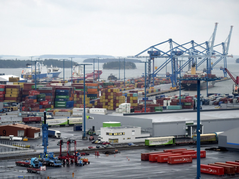 The possible strike will not affect the operations of the Vuosaari Harbour in Helsinki.
