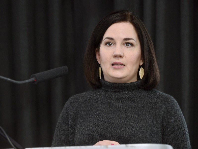Sanni Grahn-Laasonen (NCP), the Minister of Education, says she will also launch preparatory work on a roadmap to increase intake for practical nursing programmes. (Credit: Mesut Turan – Lehtikuva)
