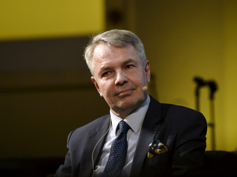 Pekka Haavisto, the caretaker chairperson of the Green League, is the favourite of 22 per cent of Finns to become the next prime minister of Finland, shows a poll by Lännen Media. (Credit: Mesut Turan – Lehtikuva)