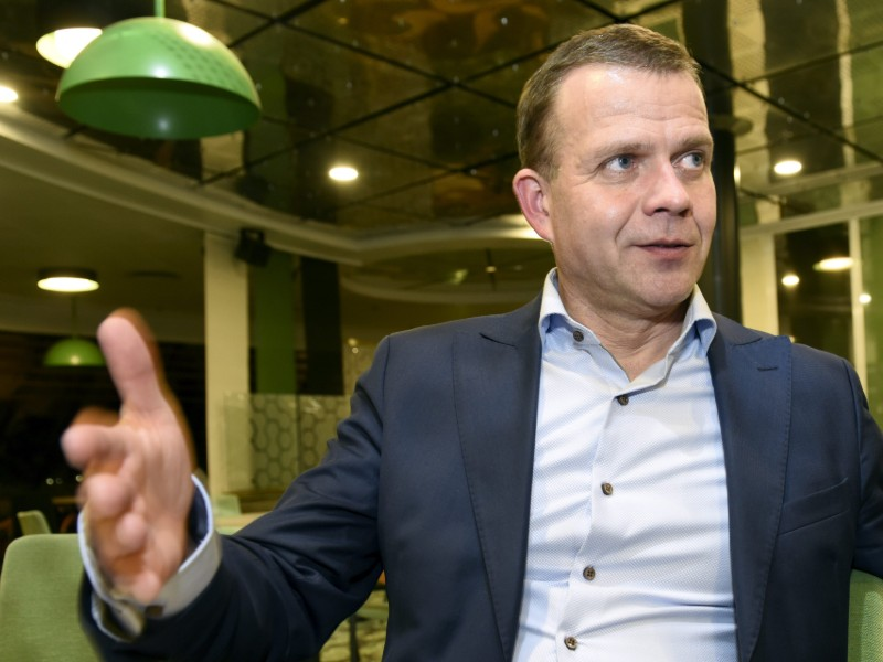 Minister of Finance Petteri Orpo (NCP) has expressed his puzzlement with criticism levelled by left-wing parties against a proposal to create a new kind equity savings account for small investors. (Credit: Heikki Saukkomaa – Lehtikuva)