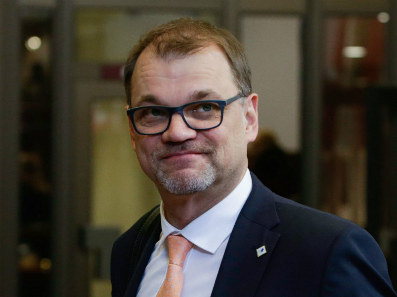 Prime Minister Juha Sipilä (Centre) has been accused of defending immigrants who have committed rapes by an analyst at Nézopönt Intezet, a think tank established under the ruling party in Hungary, Fidesz. (Credit: Aris Oikonomou – AFP/Lehtikuva)