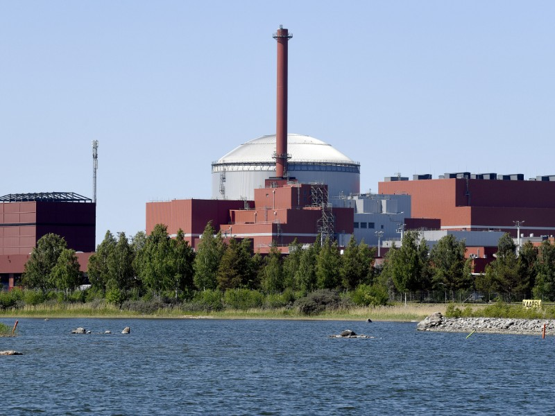 OL3, the third plant unit at Olkiluoto Nuclear Power Plant in Eurajoki, Finland, was initially scheduled for completion in 2009. (Antti Aimo-Koivisto – Lehtikuva)