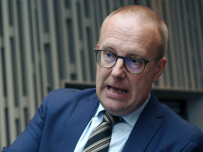 Jarkko Eloranta, the chairperson of the Central Organisation of Finnish Trade Unions (SAK), suggests the upcoming round of collective bargaining talks could determine whether the employment rate can be raised to 75 per cent in Finland. (Vesa Moilanen – Lehtikuva)