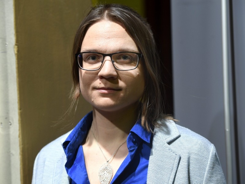 "Otava Piha, a researcher at Amnesty International in Finland, views that ""the realisation of justice depends on who is interpreting the law in Finland"". (Heikki Saukkomaa – Lehtikuva)"