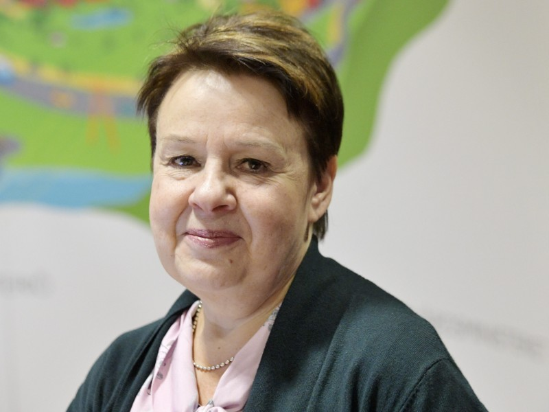 Kirsi Varhila, the head of the department for social and health services at the Ministry of Social Affairs and Health, told Helsingin Sanomat the ministry will continue to gather information on the content and consolidation of social and health care services for the next government. (Markku Ulander – Lehtikuva)
