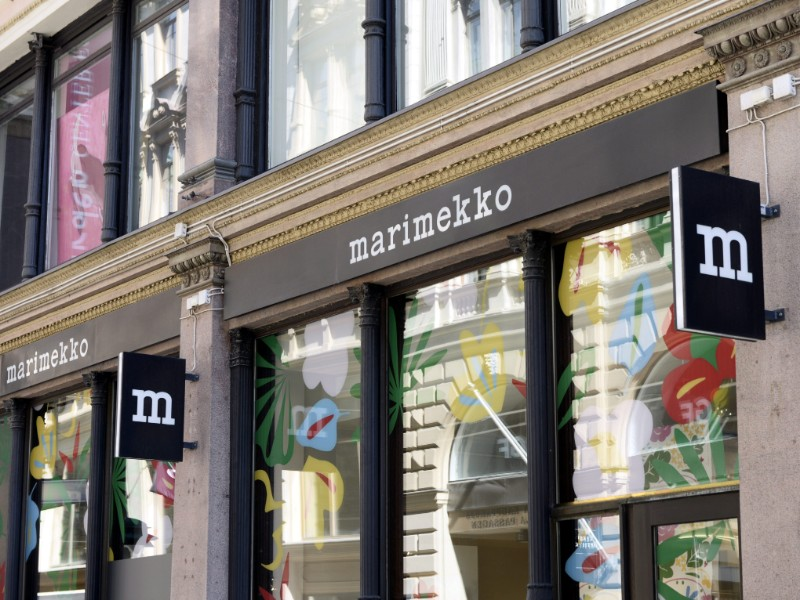 A Marimekko store in Helsinki on 15 May 2019. The Finnish market continues to account for roughly a half of the sales of the Finnish fashion house. (Laura Ukkonen – Lehtikuva)