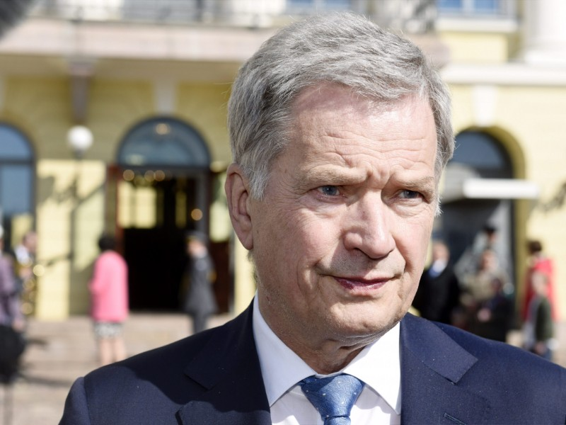 "President Sauli Niinistö says he is monitoring the ongoing coalition formation negotiations ""just like everybody else"". (Heikki Saukkomaa – Lehtikuva)"