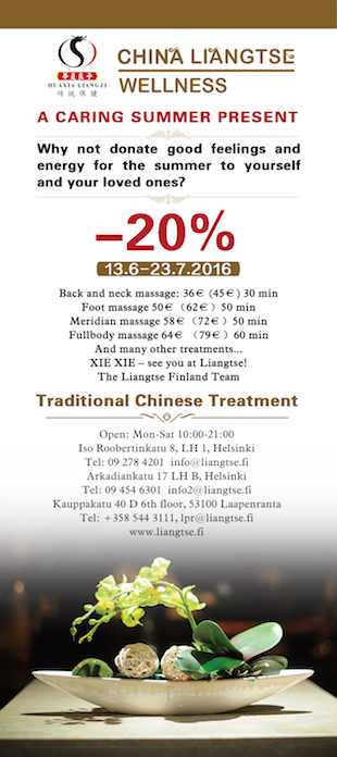 Liangtse summer offer