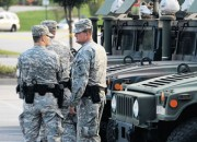 National Guard's message in Ferguson different than in past deployments