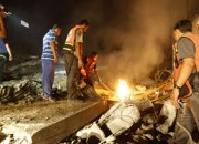 Cease-fire ends with rockets from Hamas, strikes by Israel