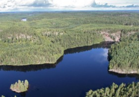 The biocapacity of Finland is larger than its ecological footprint largely due to the abundance of forests in the country.