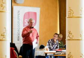 The SDP parliamentary group convened in Kuopio on Wednesday.