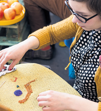 An afternoon at the museum gives visitors a chance to explore, in an entertaining and informative way, the fascinating world of creative handicraft.
