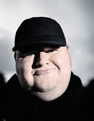 "Dotcom is regarded in New Zealand as gasbag and a misunderstood anti-hero fighting against the regime. ""I have a huge ego,"" he admits."