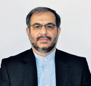 Ambassador of the Islamic Republic of Iran to Finland and Estonia, Dr. Seyed Rasoul Mousavi