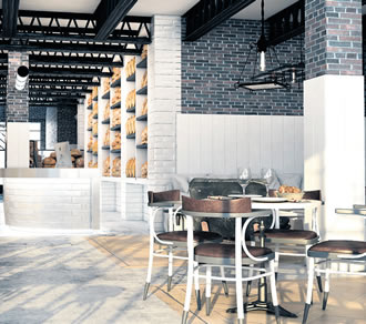 "The Praktik Hotel in Barcelona, Spain opens 1 April with a bakery in the lobby. ""Everyone likes bread, and everybody likes that smell,"" explains hotel director Alejandro Prieto."