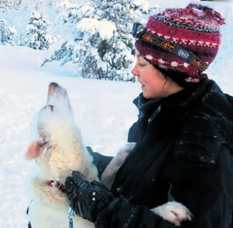 Lorin Grey is an Australian working as a husky guide in Finnish Lapland.