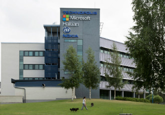 Roughly 500 people are employed at the research and product development unit of Microsoft in Peltola, Oulu.