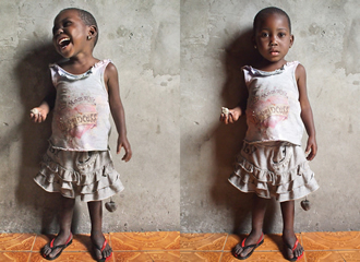 Thousands of children, including this young girl in Kishasa, have been accused of sorcery in the Democratic Republic of the Congo.