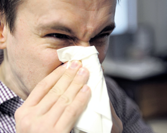 When a nose cools down in lower temperatures, the immune system's ability to stop the virus from spreading decreases.