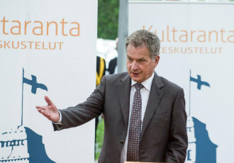 """Does our country have the courage to reform?"" President Sauli Niinistö asked in an address at Kultaranta, his official summer residence, in Naantali on Sunday."