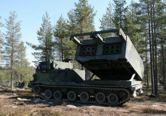 The Finnish Defence Forces have a total of 22 heavy missile carriers at their disposal.