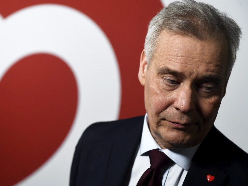Antti Rinne, the chairperson of the Social Democrats, is set to lead the upcoming coalition formation talks after his party emerged from the parliamentary elections as the largest party in the Parliament. (Vesa Moilanen – Lehtikuva)