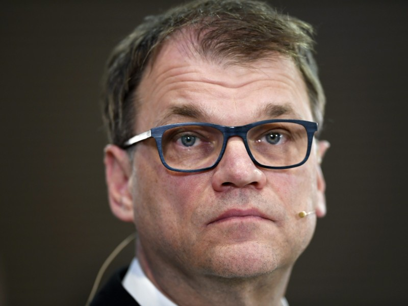 Juha Sipilä on Tuesday announced he will hand over the reins of the Centre Party in September. (Martti Kainulainen – Lehtikuva)