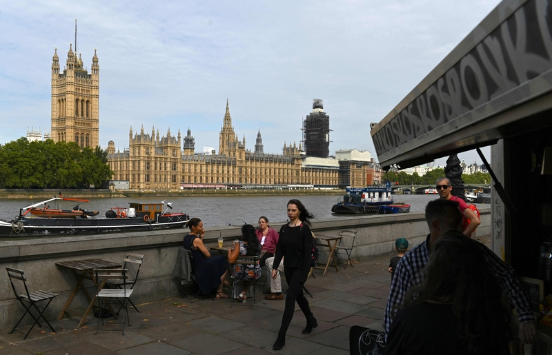 The British Houses of Parliament in London on Wednesday afternoon (Image: Lehtikuva)