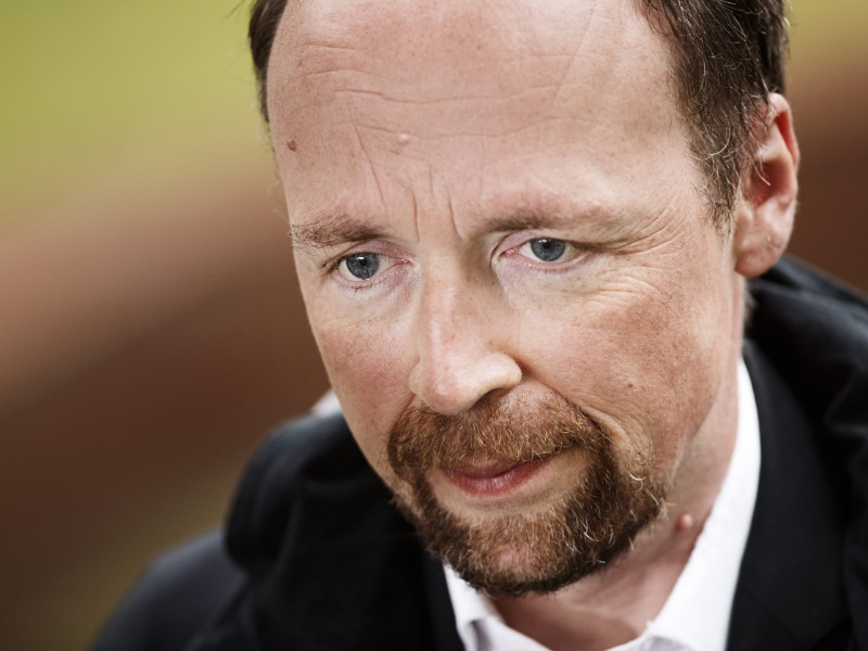 Jussi Halla-aho, the chairperson of the Finns Party, has rejected suggestions that the right-wing party is fuelling violence. (Roni Rekomaa – Lehtikuva)