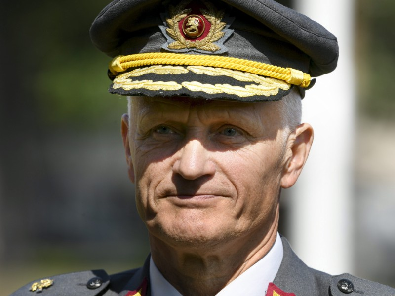 General Timo Kivinen assumed his responsibilities as the commander of the Finnish Defence Forces on Thursday, 1 August. (Martti Kainulainen – Lehtikuva)