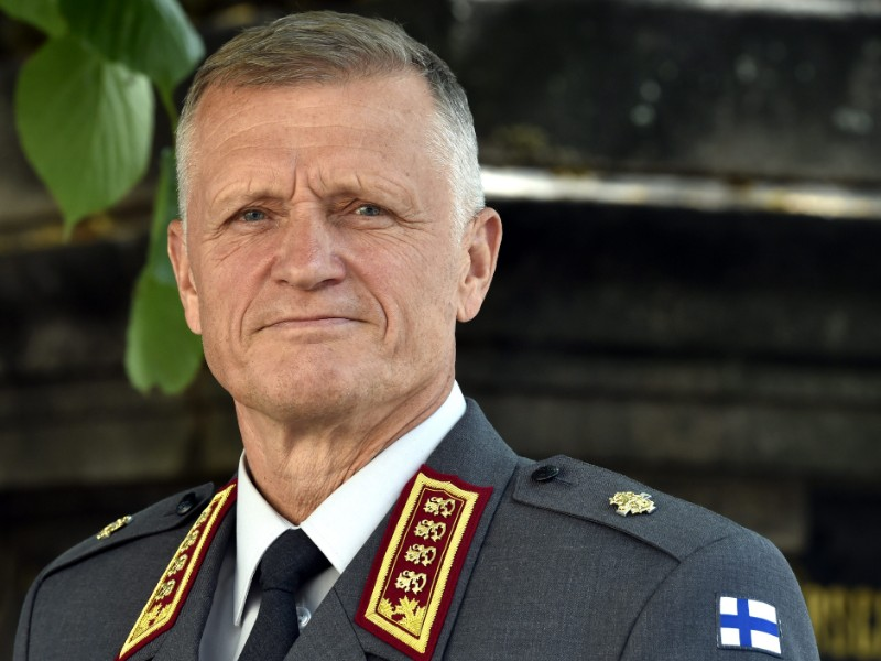 Lieutenant General Timo Kivinen took over as the commander of the Finnish Defence Forces on 1 August 2019. (Jussi Nukari – Lehtikuva)