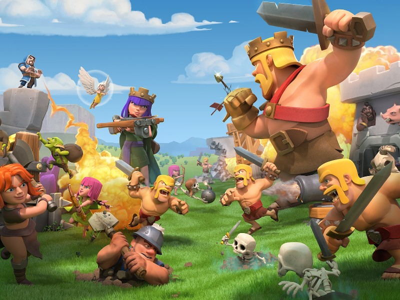 Helsinki-based Supercell's Clash of Clans was the number-one game of the past decade by consumer spending, according to App Annie. (Handout – Supercell)
