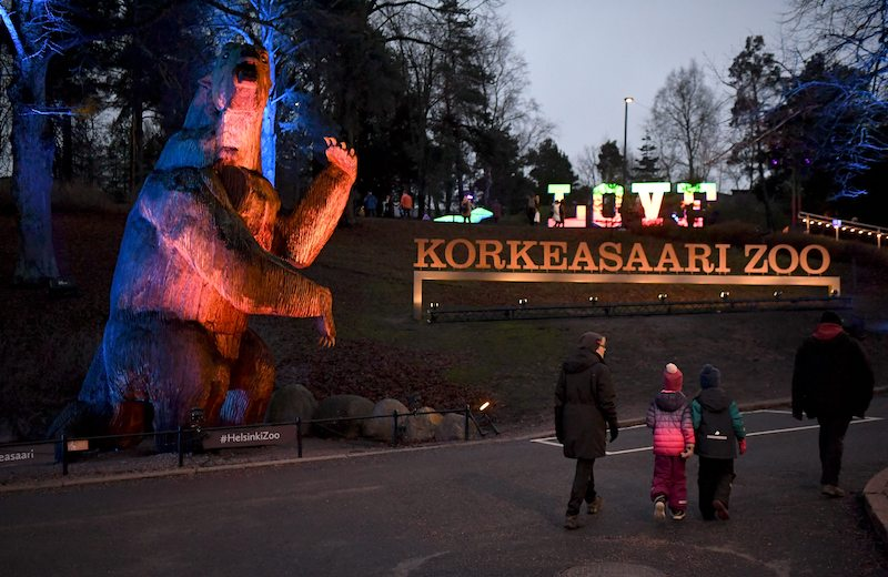 The entrance to Korkeasaari Zoo today (Image: Lehtikuva)