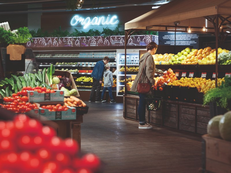 Markku Hautala, the shopkeeper of K-Citymarket Järvenpää, has revealed his desire to develop the supermarket into the most interesting of its kind in Europe. (Handout – Kesko)