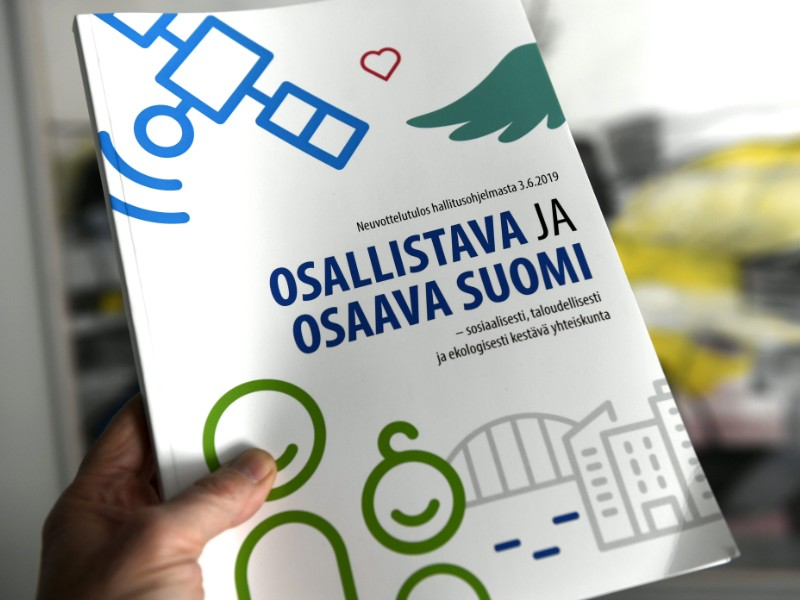 The tools laid out in the newly published government programme to boost employment have failed to convince experts and members of the political opposition alike. (Martti Kainulainen – Lehtikuva)
