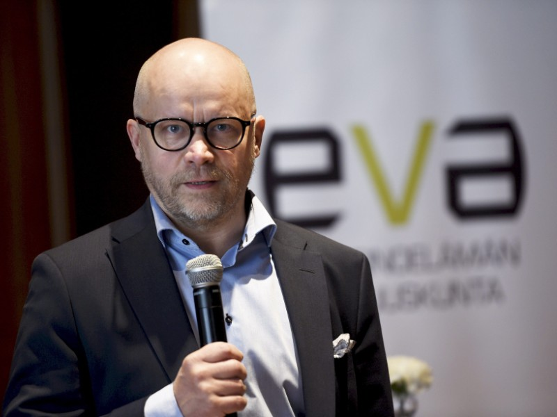 Aki Kangasharju, the CEO of the Research Institute of the Finnish Economy (Etla), says the next government will have to do about as much work as its predecessor to raise the employment rate to 75 per cent. (Martti Kainulainen – Lehtikuva)
