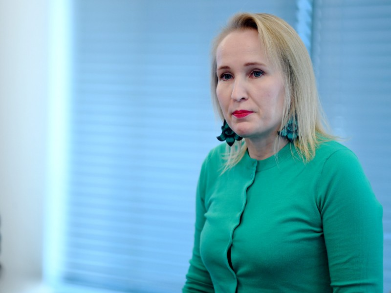 Minna Helle, the head of labour market affairs at the Federation of Finnish Technology Industries, has voiced her disapproval with the actions of the Electrical Workers' Union. (Antti Aimo-Koivisto – Lehtikuva)