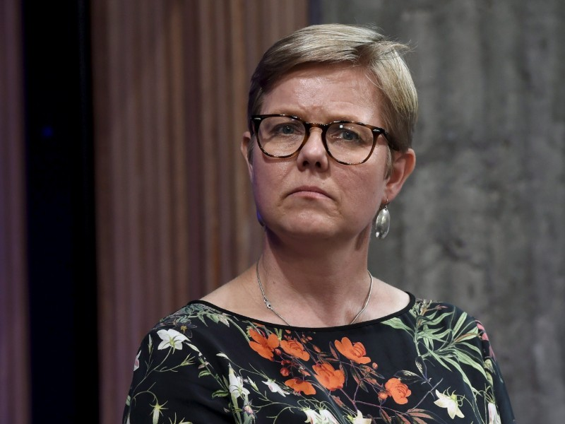 Minister of the Environment Krista Mikkonen (Greens) assures the European Union will continue to show leadership in the global fight against climate change. (Emmi Korhonen – Lehtikuva)