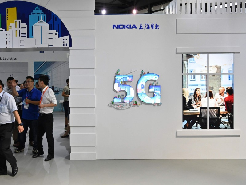 Nokia's performance in the 5G space has begun to stir up concerns among investors, industry analysts and the company's employees. (Hector Retamal – AFP/Lehtikuva)