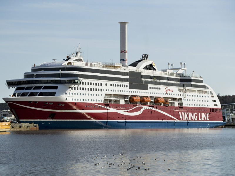 Viking Line on Sunday announced several of its cruise ships will stay docked due to a strike staged by the Finnish Seafarers' Union (SMU). (Roni Lehti – Lehtikuva)